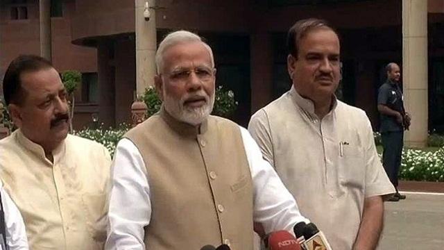 Modi hopes Monsoon session runs  with GST spirit