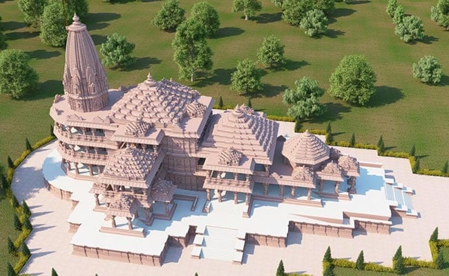 Bhoomi Pujan for construction of Ram Temple in Ayodhya today