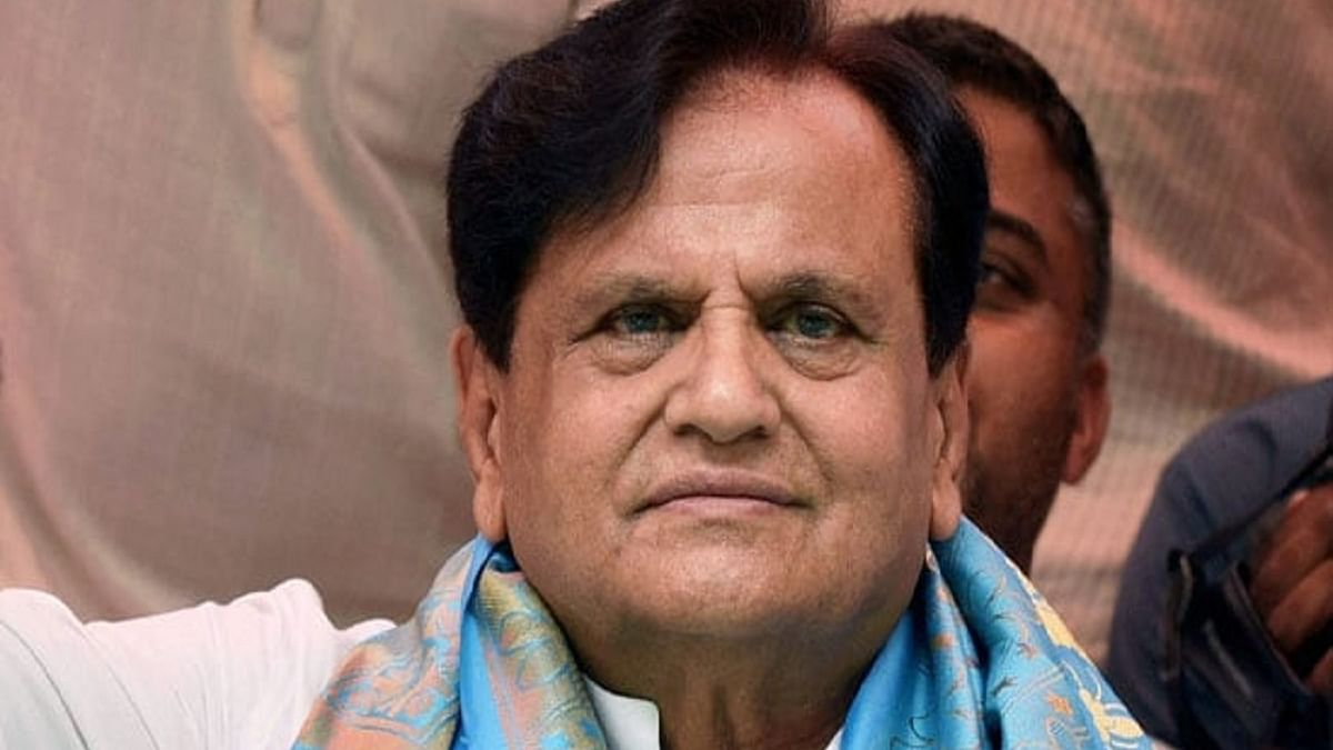 Senior Congress leader Ahmed Patel passes away