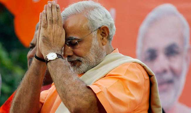 PM Modi greets people on the occasion of Navratri