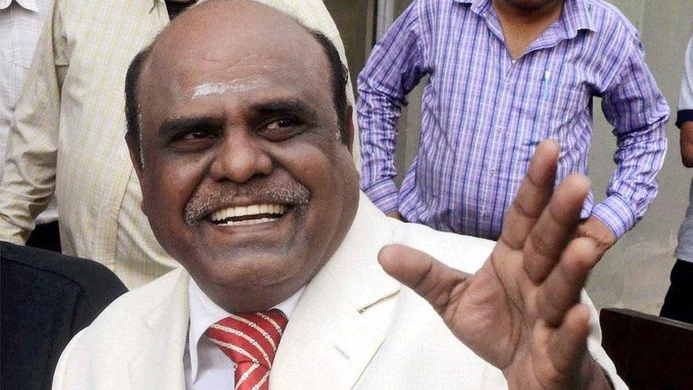 Calcutta Judge  Karnan retires today