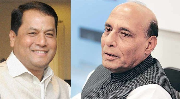 Assam CM Sonowal meets Shah, Rajnath, discusses Assam situation