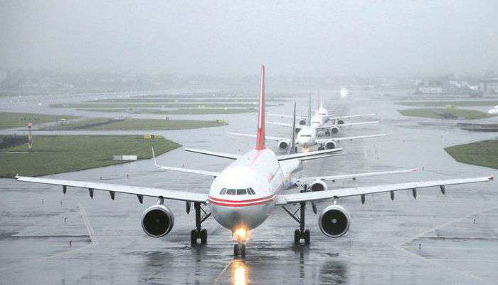 11 flights cancelled, 9 diverted due to heavy rains in Mumbai