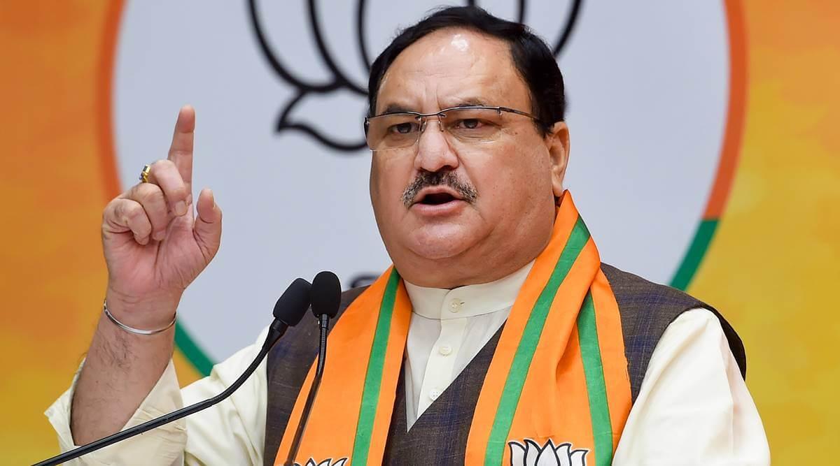 JP Nadda announces BJP