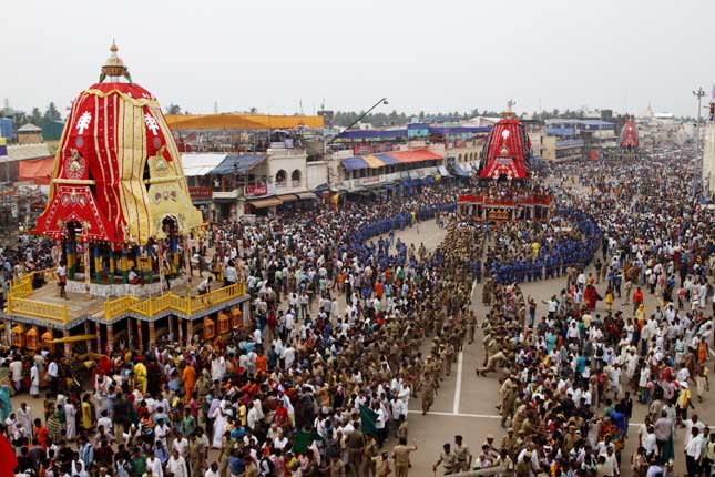 Annual Rath Yatra of Lord Jagannath begins