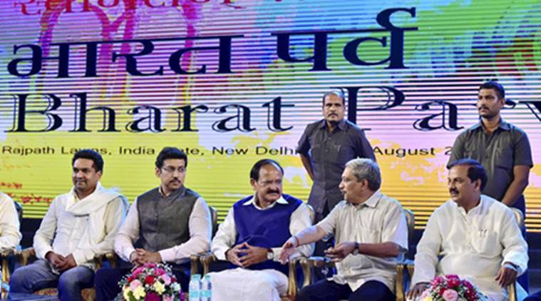 Venkaiah Naidu inaugurated Bharat Parv as a part of the Independence Day