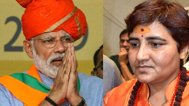 Fielding Pragya Singh Thakur a reply to those who called Hindu civilisation