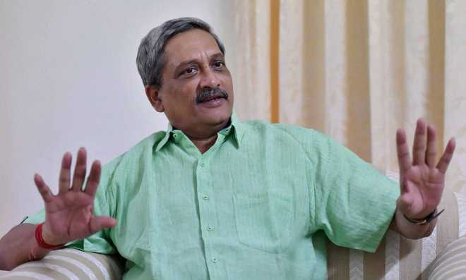 Disparity in military rank structure will be resolved soon: Manohar Parrikar
