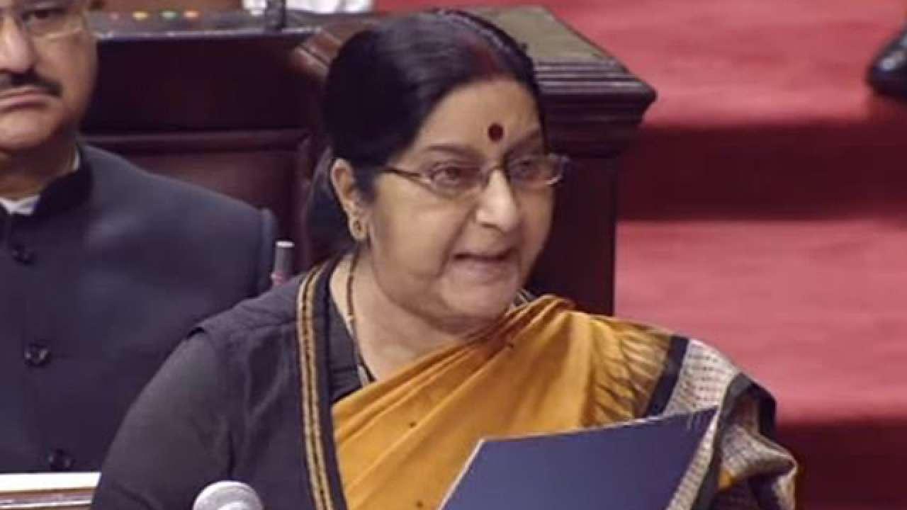 I never gave any false hope to anyone: Sushma Swaraj