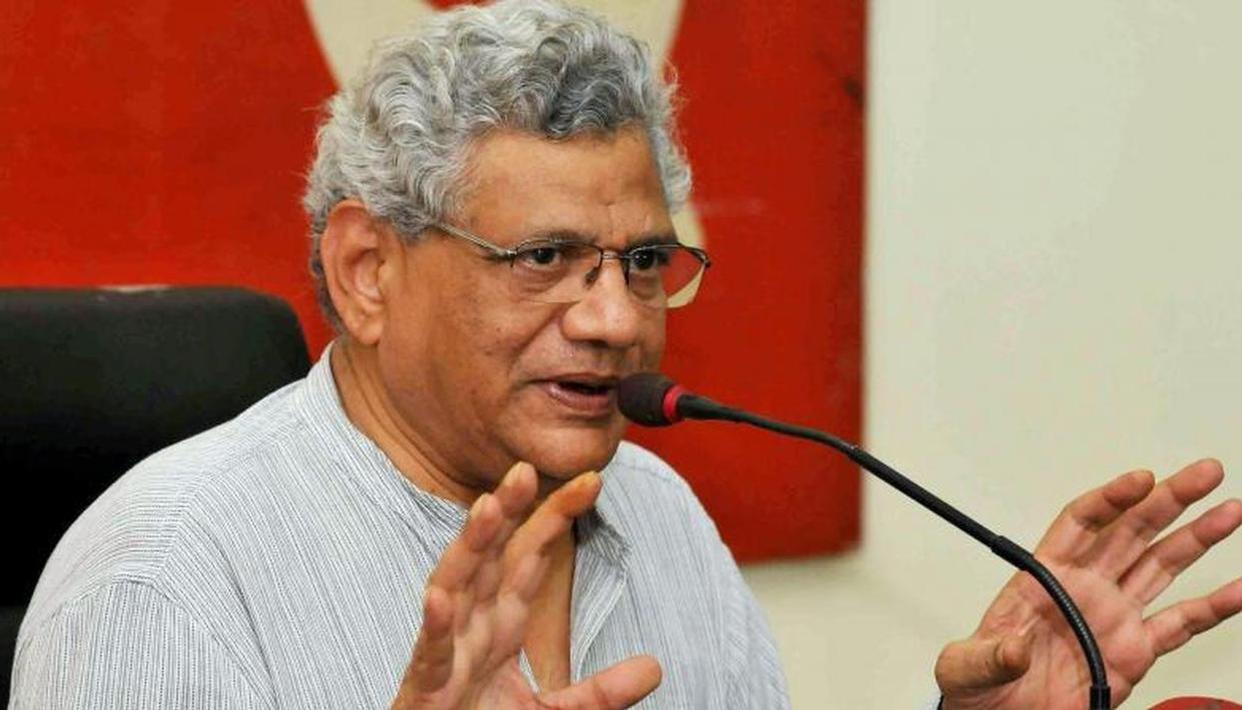 Sitaram Yechury attacks govt on slowdown in economy