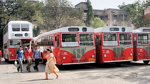 BEST buses go off Mumbai roads