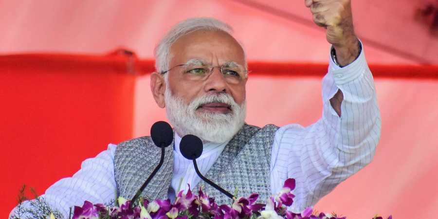 Mahatma Gandhi wanted Congress disbanded in 1947: Modi
