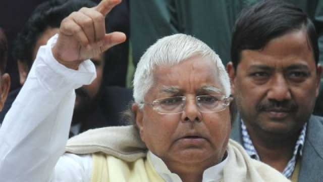 Urine as helpful as Dettol: Lalu Prasad Yadav