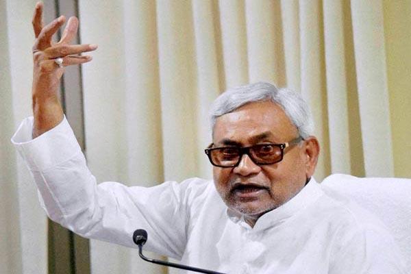 Vikas Purush Nitish Kumar