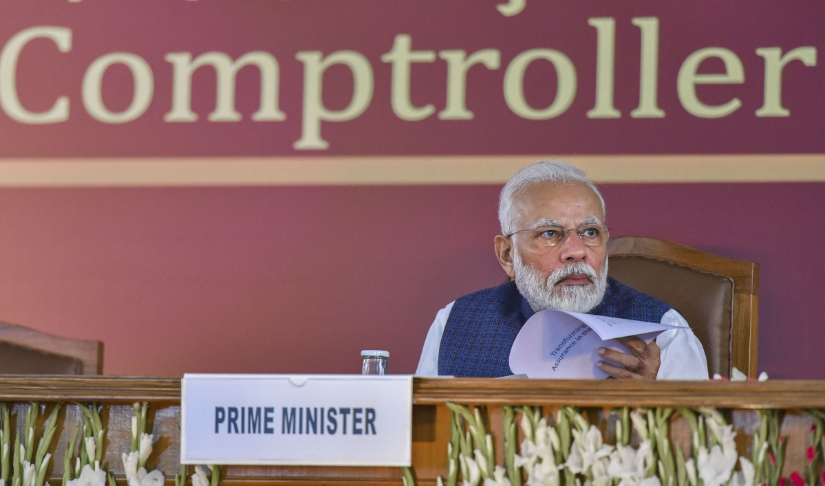 PM Modi says CAG should look for innovative methods to deal with occupational fraud