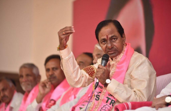 TRS promises loan waiver up to ₹1 lakh per farmer