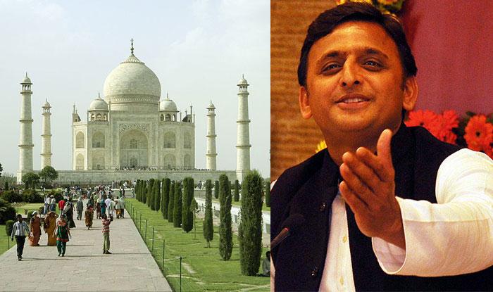 President Akhilesh Yadav views on Taj Mahal