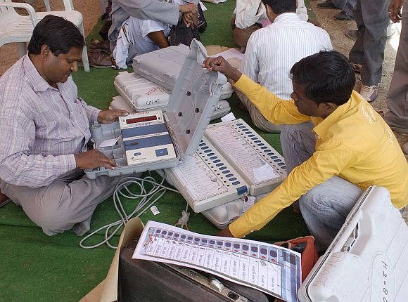 ECsays EVMs can