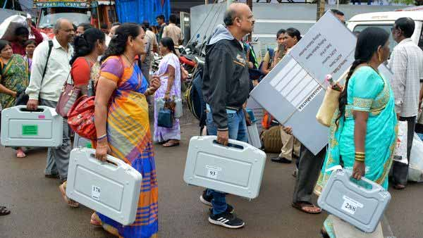 Bypoll for two Lok Sabha and 51 assemblies seats being held today