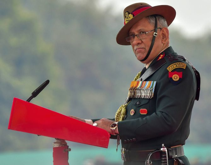 On Army Day, General Rawat issues stern warning to Pakistan