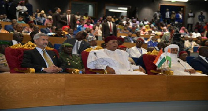 India opens its first Mahatma Gandhi convention centre in Niger