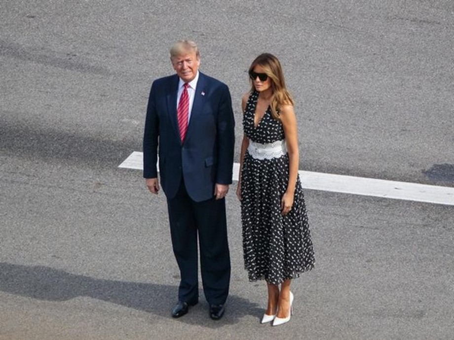 Trump first US President to visit India with wife and daughter in tow