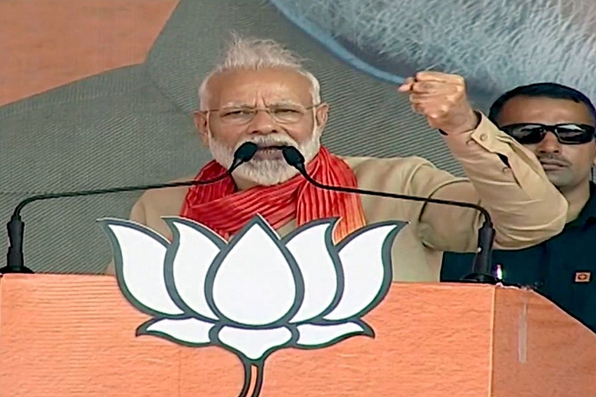 India will not allow water to flow to Pakistan: PM Modi at Haryana rally
