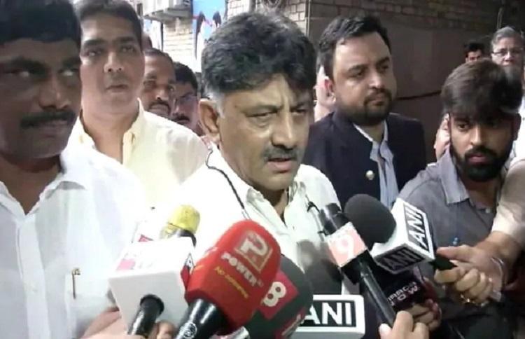Congress leader D K Shivakumar produced in Delhi court by ED