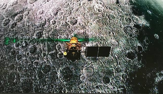 Lander Vikram of Chandrayaan-2 loses its communication minutes before soft landing