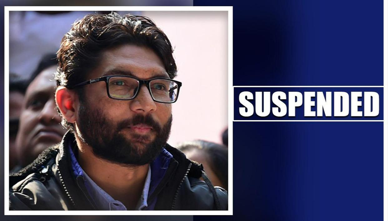 Jignesh Mevani suspended from Gujarat assembly for entire session