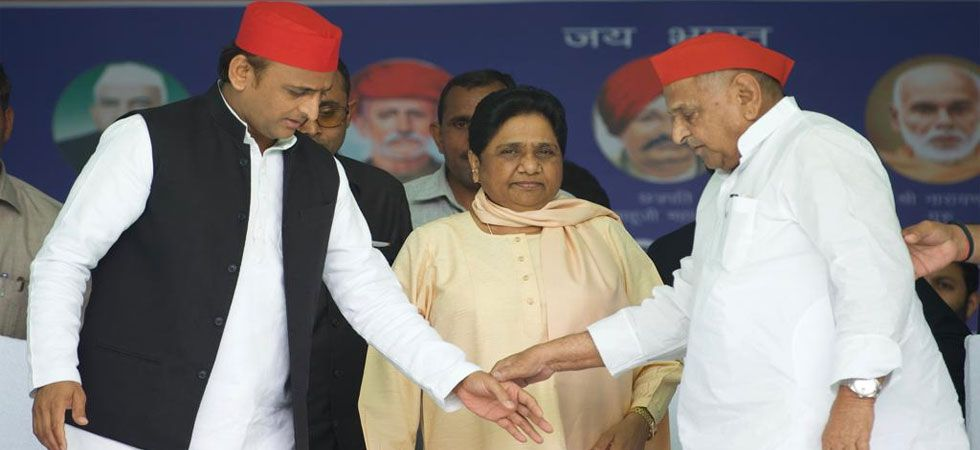 Mulayam Singh Yadav and Mayawati share stage after decades, praise each other