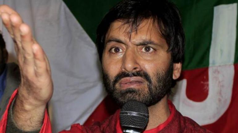JKLF chief Yaseen Malik detained in J&K