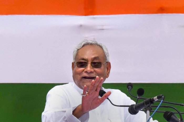 Nitish Kumar elected JD(U) president unopposed for another term