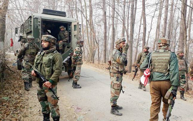 Encounter breaks out between security forces and terrorists in J&K
