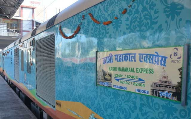 Kashi Mahakal Express begins commercial run from Indore