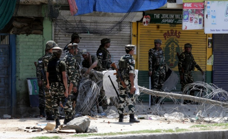 One terrorist killed in an encounter with security forces in Baramulla district