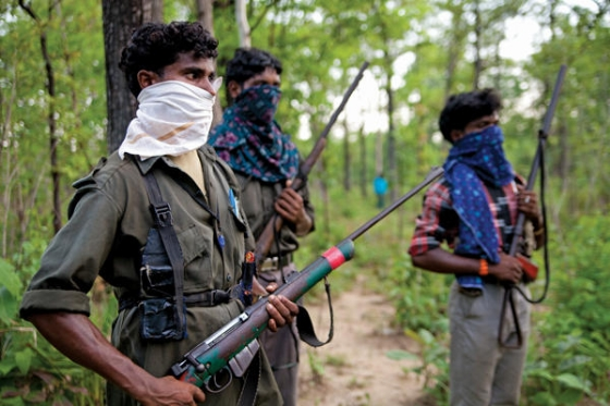Five Naxalites surrender in Maharashtra