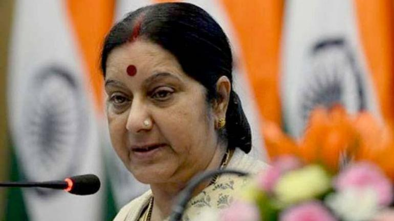 Sushma Swaraj speaks with French counterpart on anti-terror cooperation