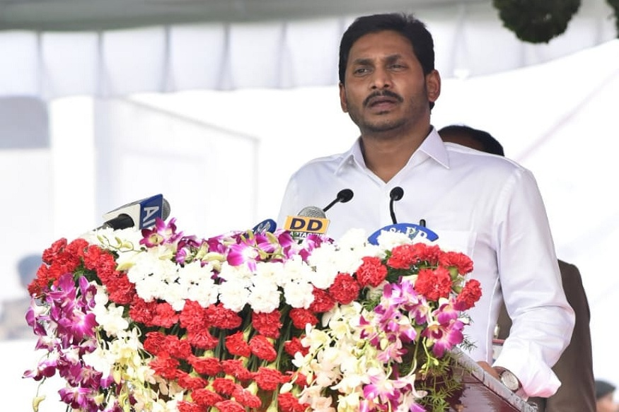 Andhra CM Jagan Mohan Reddy launches new system to ensure doorstep delivery of basic facilities