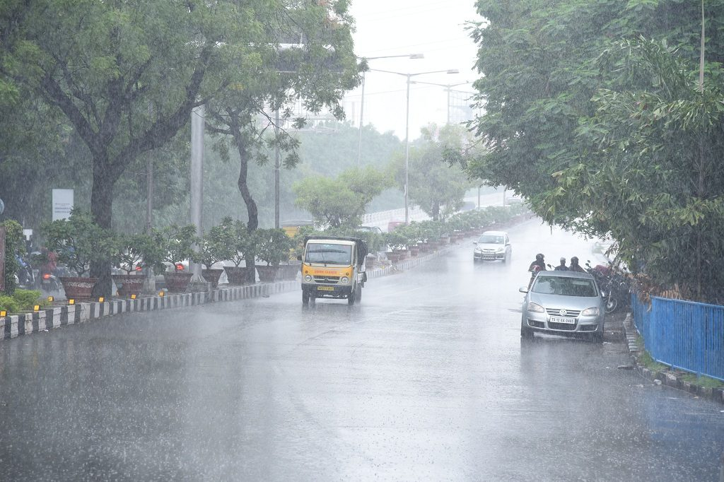 Heavy rainfall predicted at some isolated places in Andhra Pradesh
