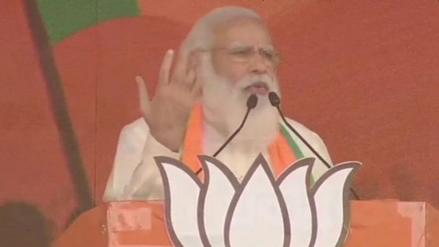 PM Modi says the people of Bengal want