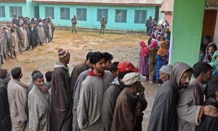 Polling begins for 4th phase of Panchayat Elections in Jammu & Kashmir
