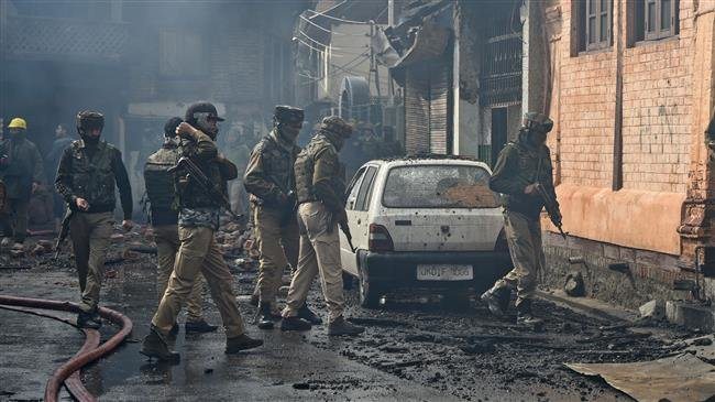 Police say four killed in Kashmir shootout