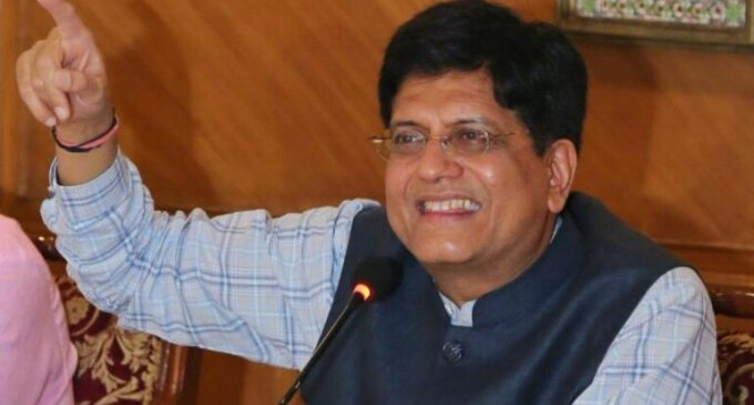 Piyush Goyal will be on two-day visit to UAE from today