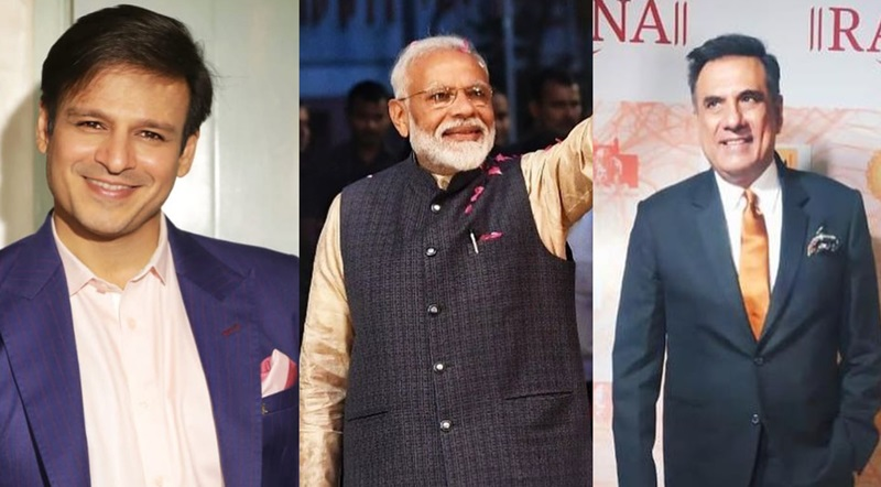 Vivek Oberoi, Boman Irani in Delhi to attend PM Modi's swearing-in