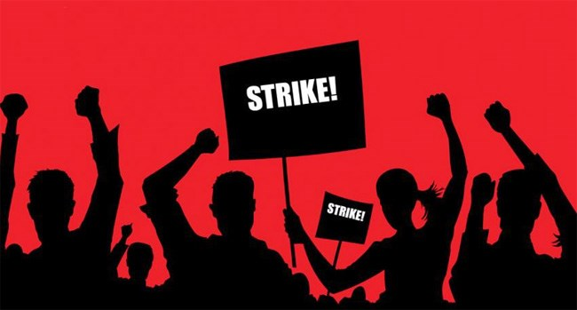 Workers to go on 2-day strike on Jan 8, 9