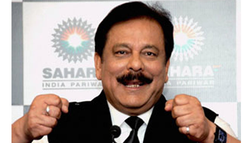 SC asks Sahara to deposits Rs.5,092.6 cr to keep Subroto Roy out of jail