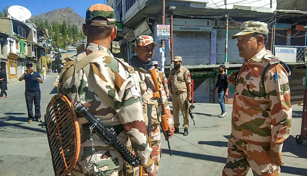 Protesters detained for defying restrictions in Kargil