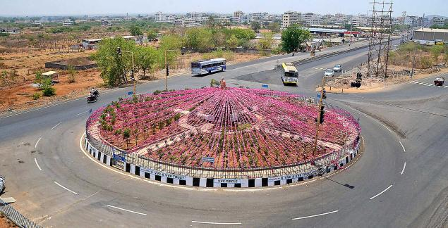 Khammam turns pink as TRS plenary to be held today