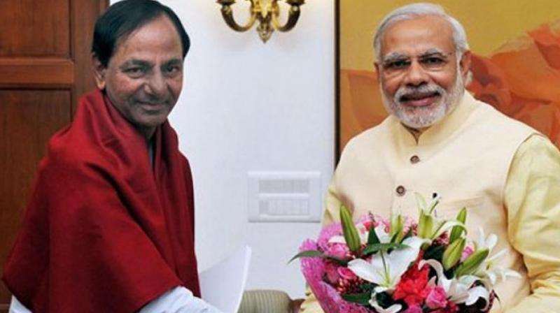 Modi to hold meeting with CM of drought hit Telangana  today